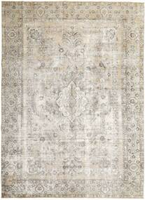 Colored Vintage Rug 277X377 Authentic  Modern Handknotted Light Grey/Light Brown Large (Wool, Persia/Iran)