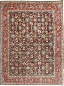 Tabriz Patina Rug 250X338 Authentic Oriental Handknotted Light Brown/Dark Brown Large (Wool, Persia/Iran)