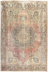 Colored Vintage Rug 210X303 Authentic  Modern Handknotted Light Brown/Beige (Wool, Persia/Iran)