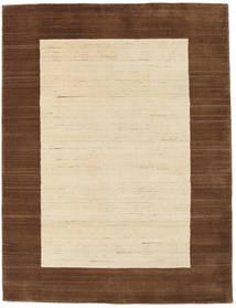 ギャッベ インド 絨毯 106X150 モダン 手織り ベージュ/濃い茶色 (ウール, インド)