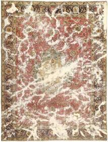 カラード ヴィンテージ 絨毯 257X337 モダン 手織り 茶/ベージュ 大きな (ウール, ペルシャ/イラン)