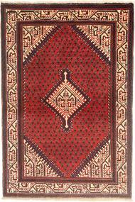 Sarouk Rug 100X150 Authentic  Oriental Handknotted Dark Red/Brown (Wool, Persia/Iran)