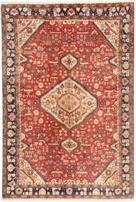 Jozan Matta 135X202 Äkta Orientalisk Handknuten Roströd/Ljusbrun (Ull, Persien/Iran)