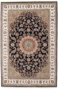 Nain Indo Rug 204X308 Authentic Oriental Handknotted Light Brown/Light Grey ( India)