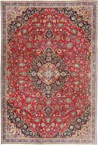 Mashad Patina Rug 183X278 Authentic Oriental Handknotted Dark Red/Beige (Wool, Persia/Iran)