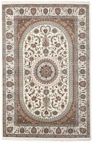 Nain Indisk Teppe 199X304 Ekte Orientalsk Håndknyttet Lys Grå/Beige ( India)