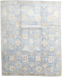 Wool/Bambusilk Loom - Indo Rug 235X294 Authentic  Modern Handknotted Light Grey/Beige (Wool/Bamboo Silk, India)