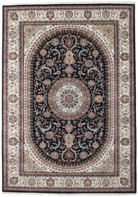Nain Indo Rug 252X355 Authentic  Oriental Handknotted Light Grey/Dark Blue Large ( India)