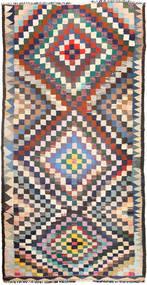 Kelim Tæppe 165X330 Ægte Orientalsk Håndvævet Lilla/Lyserød (Uld, Persien/Iran)