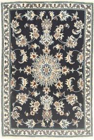 Nain Matta 78X117 Äkta Orientalisk Handknuten Mörkgrå/Beige (Ull, Persien/Iran)