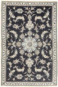 Nain Matta 89X140 Äkta Orientalisk Handknuten Mörkgrå/Beige (Ull, Persien/Iran)