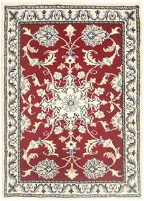 Nain Tappeto 60X90 Orientale Fatto A Mano Beige/Rosso (Lana, Persia/Iran)