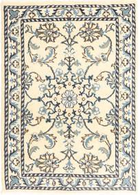 Nain Matta 60X90 Äkta Orientalisk Handknuten Beige/Ljusgrå (Ull, Persien/Iran)