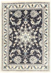Nain Tappeto 60X90 Orientale Fatto A Mano Grigio Chiaro/Grigio Scuro/Beige (Lana, Persia/Iran)