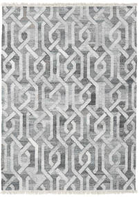 Trinny - Dark Grey/Grey Rug 170X240 Authentic  Modern Handwoven Light Grey/White/Creme ( India)