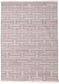 Path - Brown/Pink Rug 170X240 Authentic Modern Handwoven Light Grey/Dark Beige ( India)