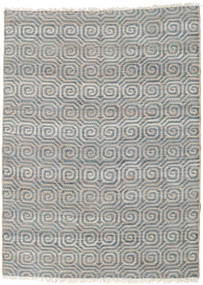 Thar Jute Rug 170X240 Authentic  Modern Handwoven Light Grey/Dark Grey ( India)