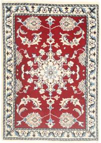 Nain Tappeto 60X90 Orientale Fatto A Mano Rosso/Rosa Chiaro (Lana, Persia/Iran)
