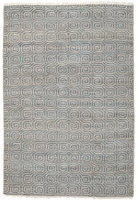 Thar Jute Rug 200X300 Authentic  Modern Handwoven Light Grey/Dark Grey ( India)