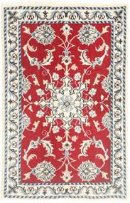 Nain Tappeto 60X90 Orientale Fatto A Mano Bianco/Creme/Rosso (Lana, Persia/Iran)