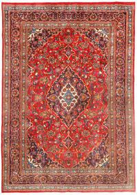 マシュハド 絨毯 195X284 オリエンタル 手織り 錆色/茶 (ウール, ペルシャ/イラン)