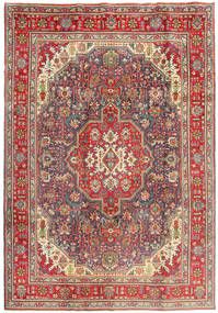 Tabriz Rug 206X291 Authentic  Oriental Handknotted Brown/Dark Red (Wool, Persia/Iran)