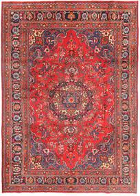 Mashad Tapis 198X290 D'orient Fait Main Orange/Marron (Laine, Perse/Iran)