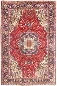 Tabriz Matto 197X299 Itämainen Käsinsolmittu Ruskea/Ruoste (Villa, Persia/Iran)