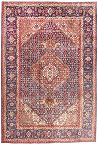 Tabriz Rug 202X304 Authentic  Oriental Handknotted Light Pink/Brown (Wool, Persia/Iran)