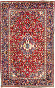 Yazd Rug 198X315 Authentic  Oriental Handknotted Brown/Rust Red (Wool, Persia/Iran)