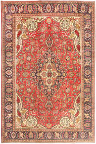 Tabriz Rug 200X303 Authentic  Oriental Handknotted Light Brown/Brown (Wool, Persia/Iran)
