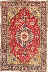 Tabriz Tapijt 200X302 Echt Oosters Handgeknoopt Bruin/Lichtbruin (Wol, Perzië/Iran)