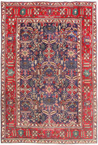 Tabriz Rug 194X290 Authentic  Oriental Handknotted Dark Red/Beige (Wool, Persia/Iran)