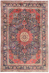 Tabriz Rug 209X314 Authentic  Oriental Handknotted Dark Purple/Purple (Wool, Persia/Iran)
