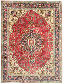 Tabriz Rug 244X330 Authentic  Oriental Handknotted Light Brown/Brown (Wool, Persia/Iran)
