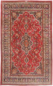 Mashhad Covor 191X318 Orientale Lucrat Manual Ruginiu/Maro (Lână, Persia/Iran)