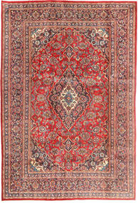 Mashad Rug 198X303 Authentic  Oriental Handknotted Rust Red/Light Brown (Wool, Persia/Iran)