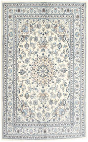 Nain Rug 162X265 Authentic  Oriental Handknotted Beige/Light Grey (Wool, Persia/Iran)