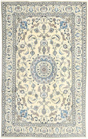 Nain Rug 193X304 Authentic  Oriental Handknotted Beige/Light Grey (Wool, Persia/Iran)