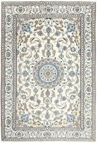 Nain Matto 199X288 Itämainen Käsinsolmittu Beige/Vaaleanharmaa/Tummanharmaa (Villa, Persia/Iran)