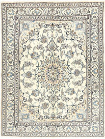 Nain Alfombra 149X197 Oriental Hecha A Mano Beige/Gris Claro (Lana, Persia/Irán)