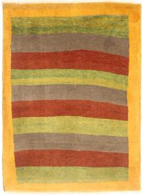 ギャッベ キャシュクリ 絨毯 80X107 モダン 手織り オレンジ/薄茶色 (ウール, ペルシャ/イラン)