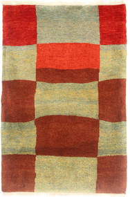 Gabbeh Kashkooli Rug 80X120 Authentic  Modern Handknotted Rust Red/Light Green (Wool, Persia/Iran)