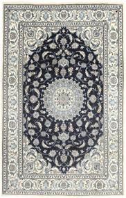 Nain Alfombra 190X296 Oriental Hecha A Mano Gris Oscuro/Beige/Gris Claro (Lana, Persia/Irán)