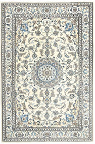 Naïn Tapis 197X300 D'orient Fait Main Beige/Gris Clair (Laine, Perse/Iran)