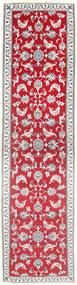 Nain Matta 75X294 Äkta Orientalisk Handknuten Hallmatta Beige/Röd (Ull, Persien/Iran)