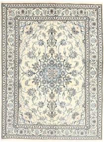 Nain Covor 164X224 Orientale Lucrat Manual Gri Deschis/Bej (Lână, Persia/Iran)