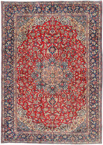Najafabad Rug 260X370 Authentic  Oriental Handknotted Dark Red/Light Grey Large (Wool, Persia/Iran)
