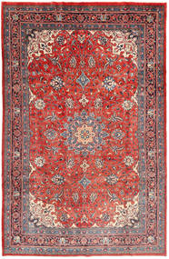 Mahal Rug 206X307 Authentic  Oriental Handknotted Dark Red/Rust Red (Wool, Persia/Iran)