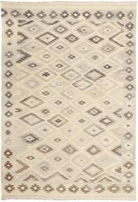 キリム ナチュラル 絨毯 195X291 モダン 手織り ベージュ/薄茶色 (ウール, パキスタン)
